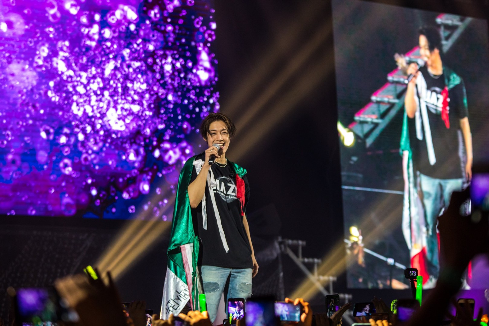 [Big J Entertainment Mx Photo] Hyun Joong World Tour HAZE in Mexico [2018.03.20]